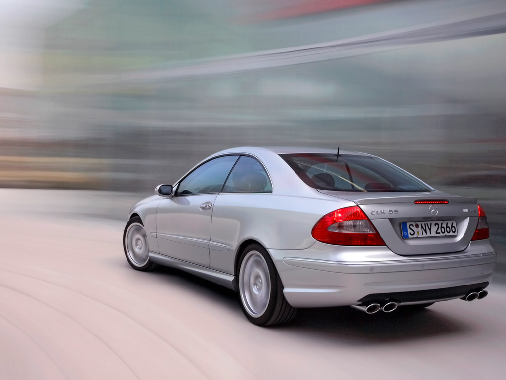 Mercedes-Benz CLK 55 AMG photo 08
