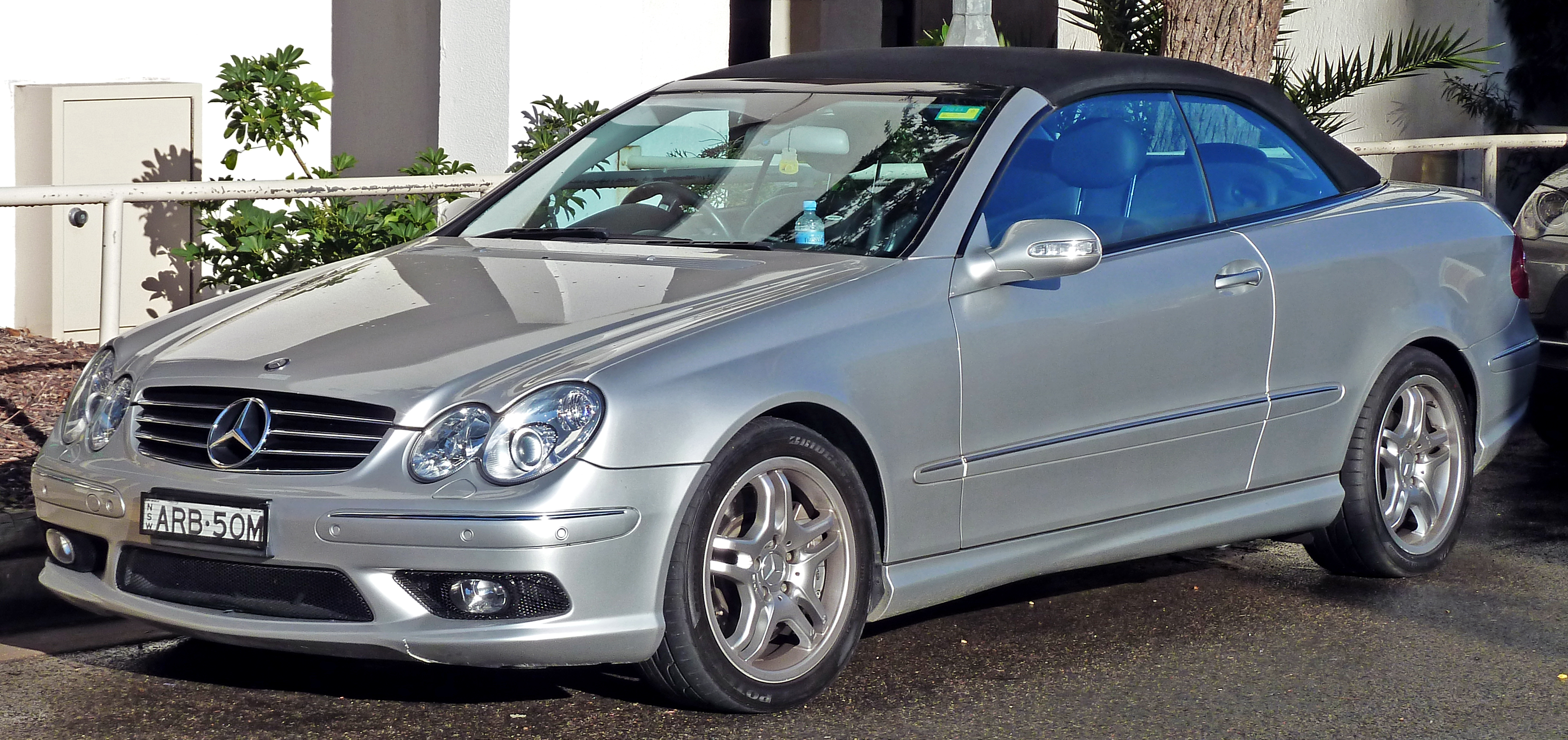 Mercedes-Benz CLK 55 AMG photo 12