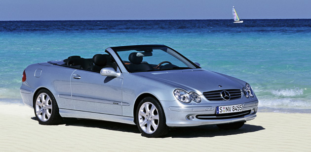 Mercedes-Benz CLK Cabrio photo 05