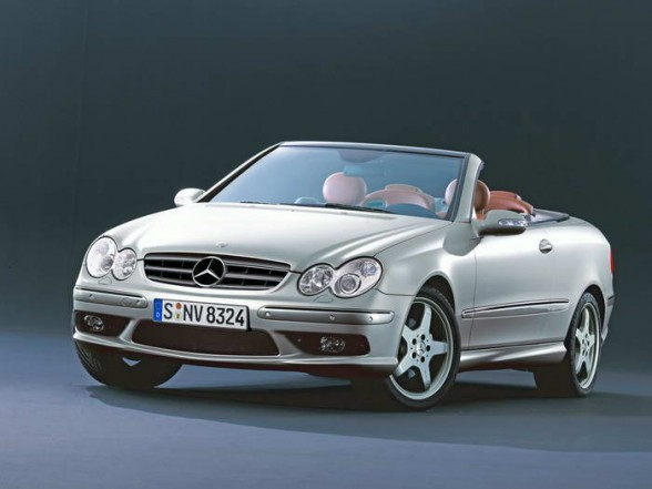 Mercedes-Benz CLK Cabrio photo 06