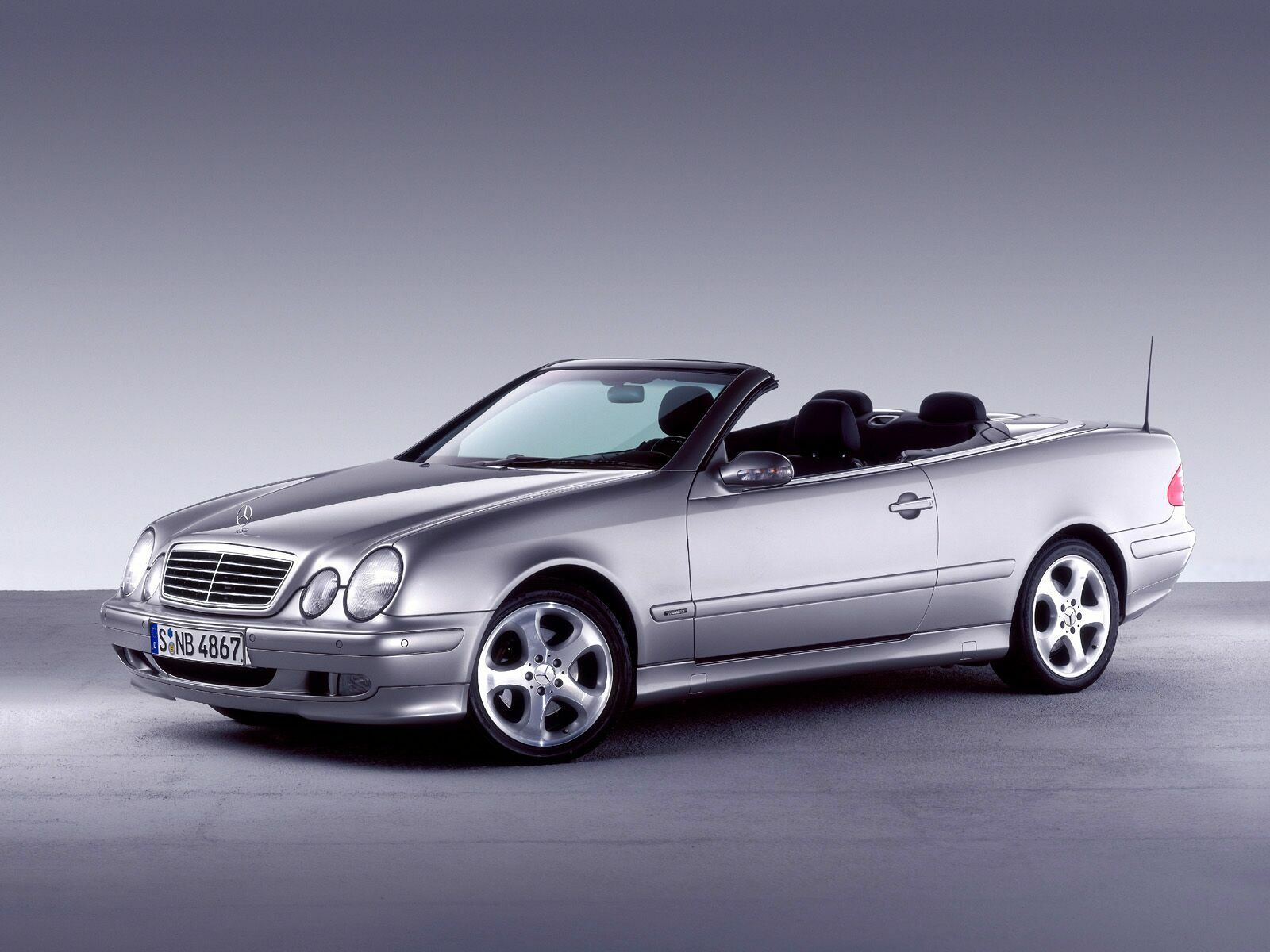 Mercedes-Benz CLK Cabrio photo 07