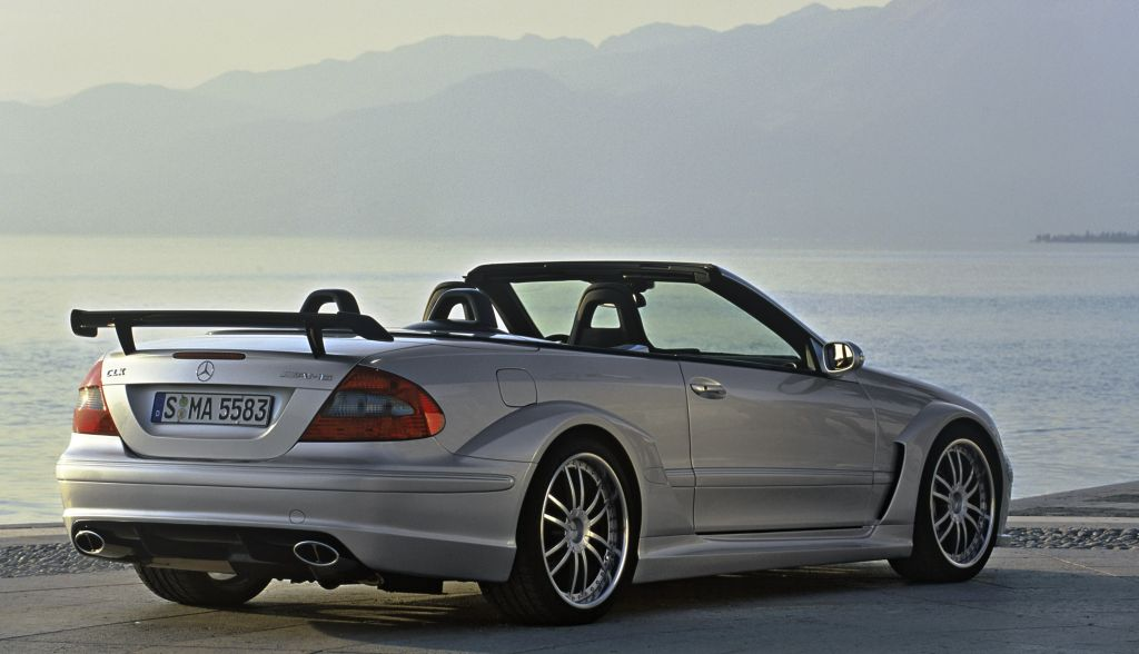 Mercedes-Benz CLK Cabrio Sport Edition photo 05