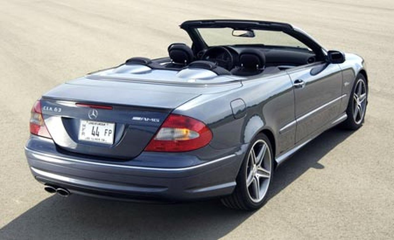 Mercedes-Benz CLK Cabrio Sport Edition photo 09