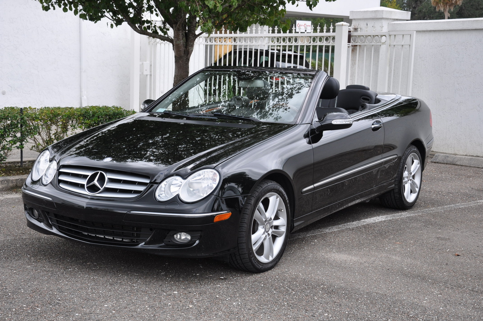 mercedes benz clk cabrio sport edition technical details