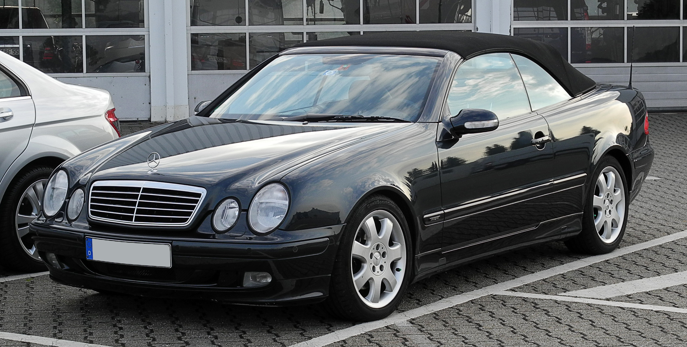 Mercedes benz clk klasse technical details history for Www mercedes benz parts