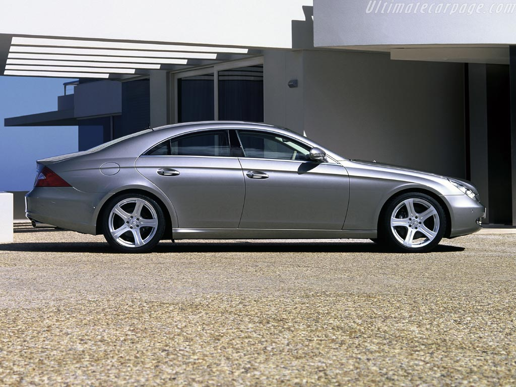 Mercedes benz cls 500 technical details history photos for Mercedes benz c 500