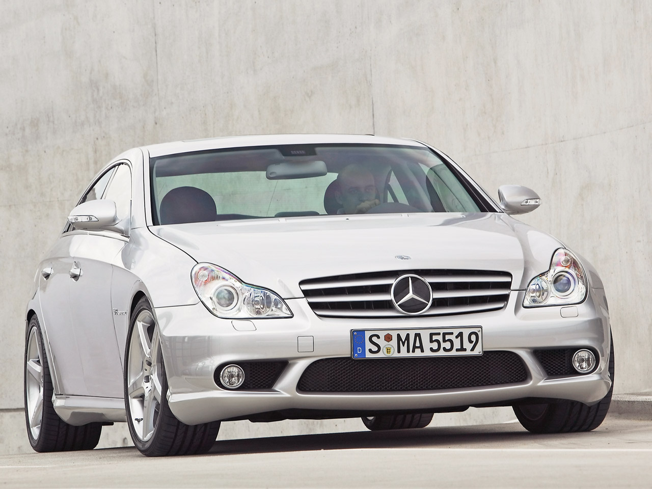 Mercedes benz cls 55 amg technical details history for Mercedes benz amg parts