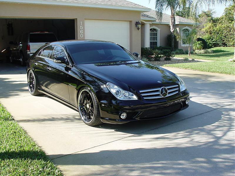 Mercedes benz cls 55 amg technical details history for Cls mercedes benz for sale