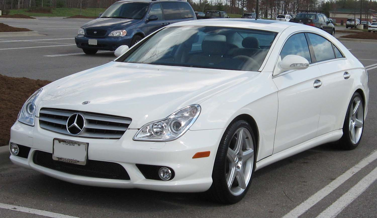 Mercedes benz cls 55 amg technical details history for Parts mercedes benz