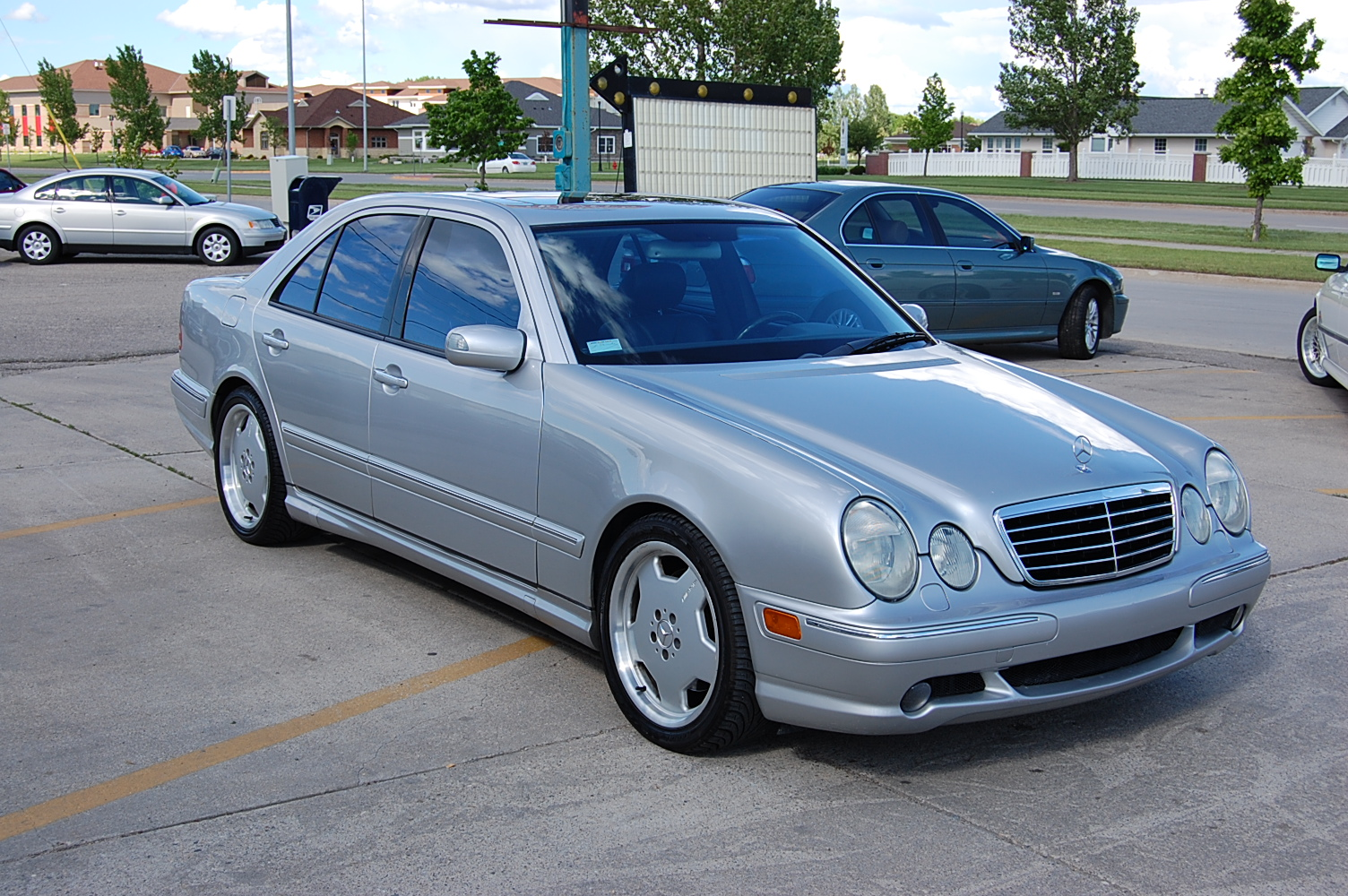 Mercedes benz e 55 amg technical details history photos for Mercedes benz of atlanta parts