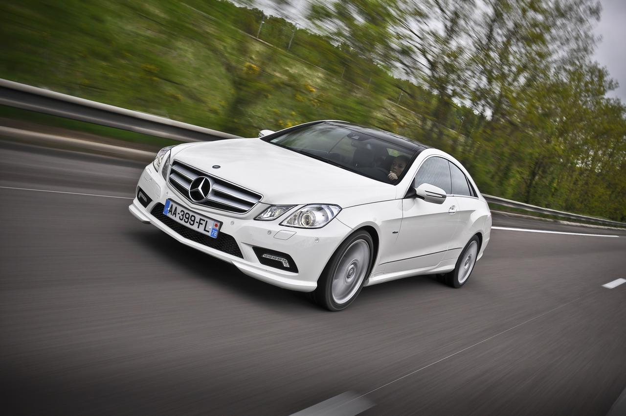 Mercedes benz e klasse coupe technical details history for Mercedes benz dealer parts