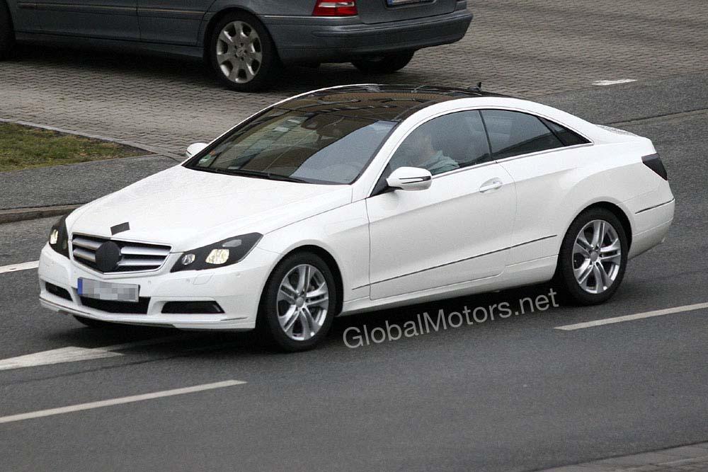 Mercedes benz e klasse coupe technical details history for Mercedes benz e350 accessories