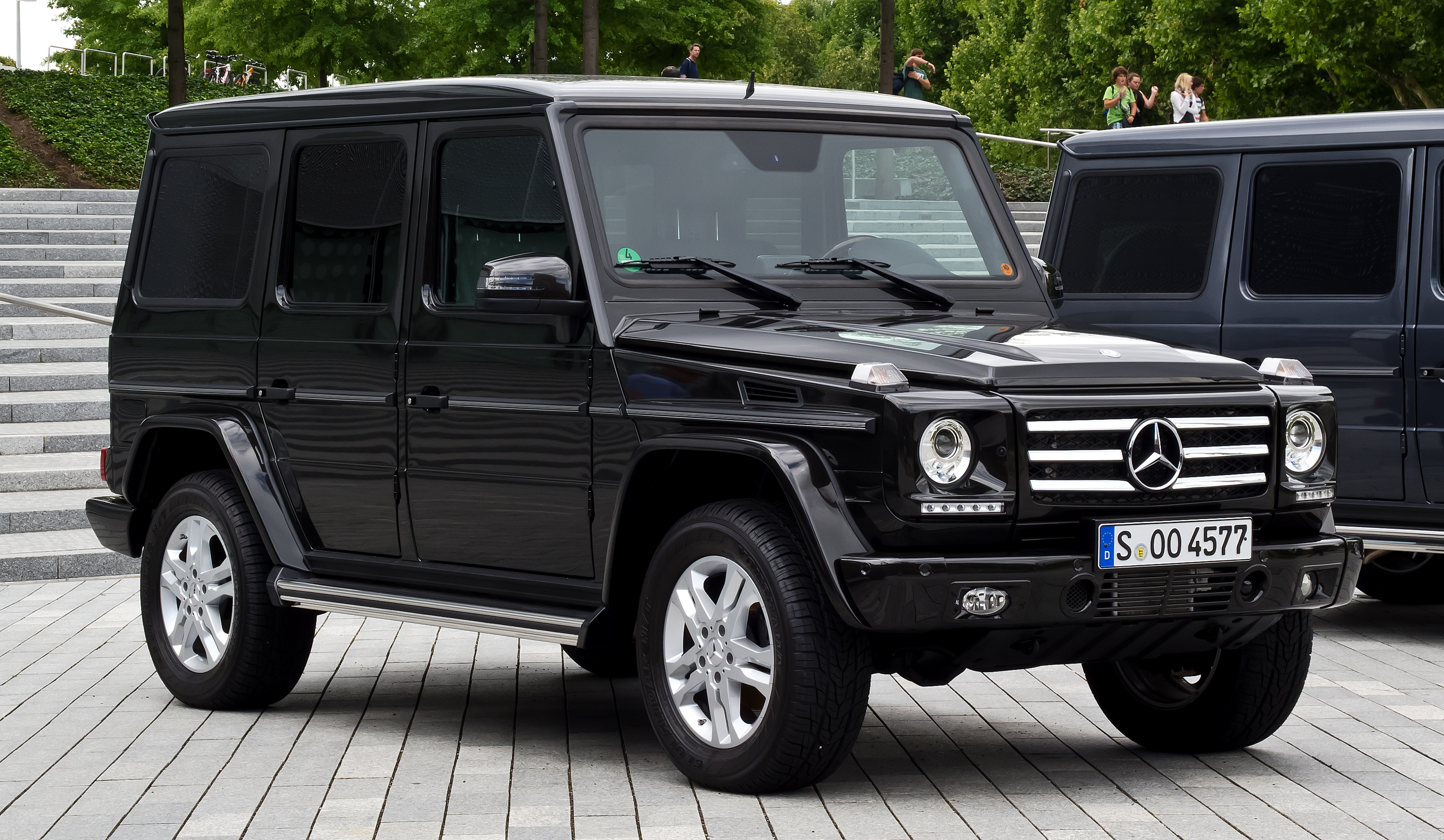 mercedes benz g 350 bluetec technical details history
