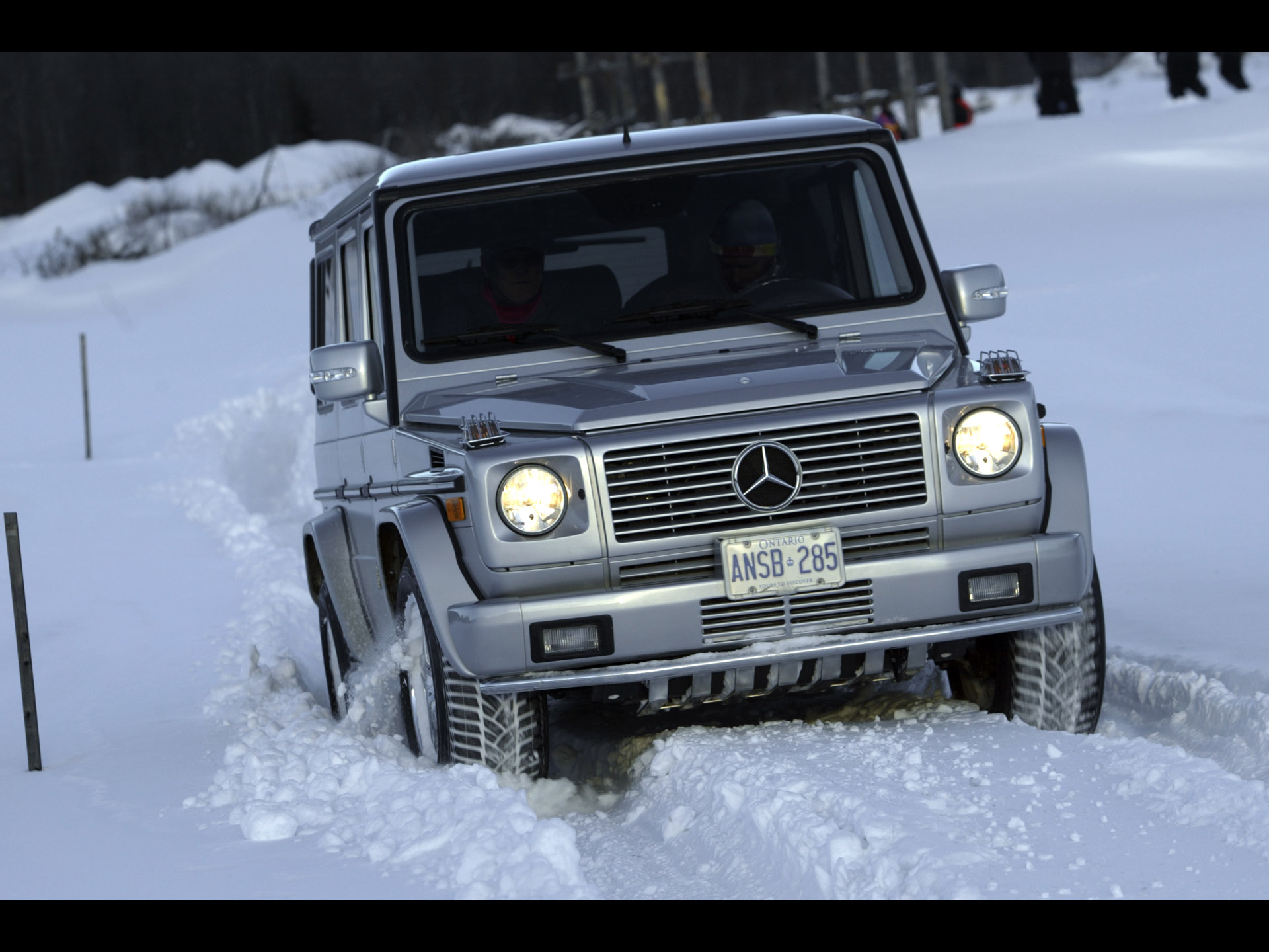 Mercedes Benz G 55 Amg Technical Details History Photos