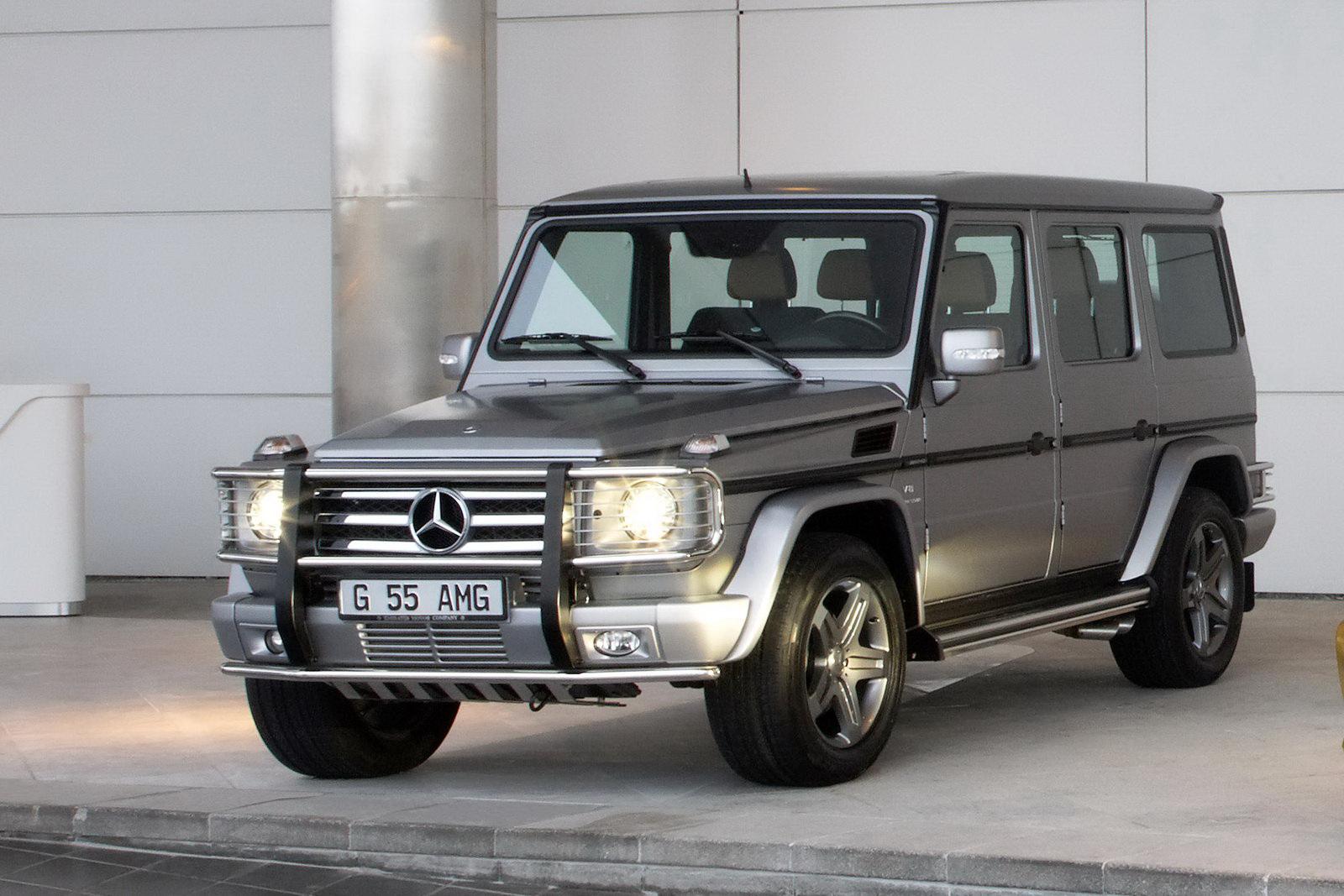 Mercedes benz g 55 amg kompressor technical details for Mercedes benz amg kompressor