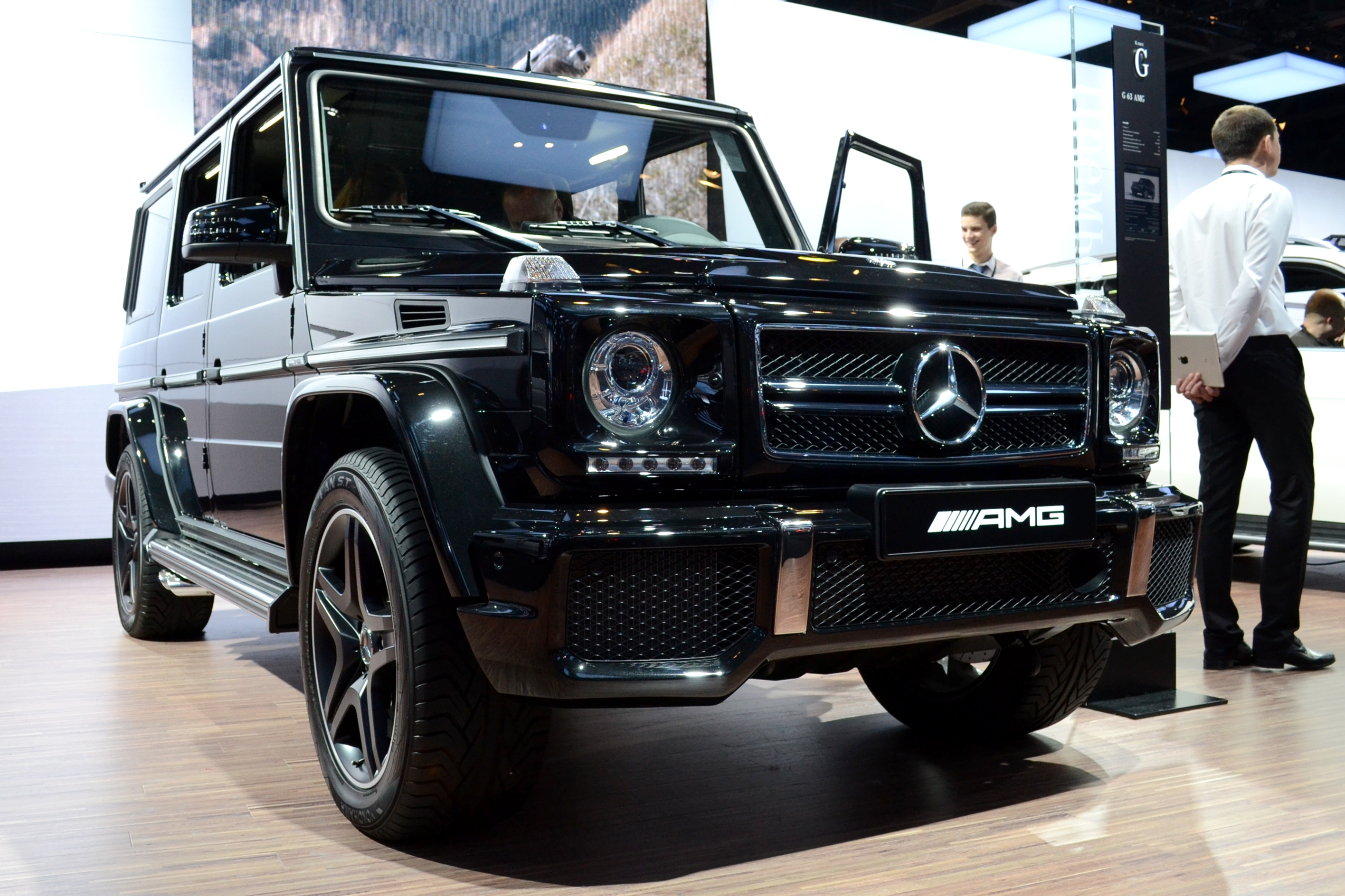 Mercedes Benz G 63 AMG technical details history photos on Better