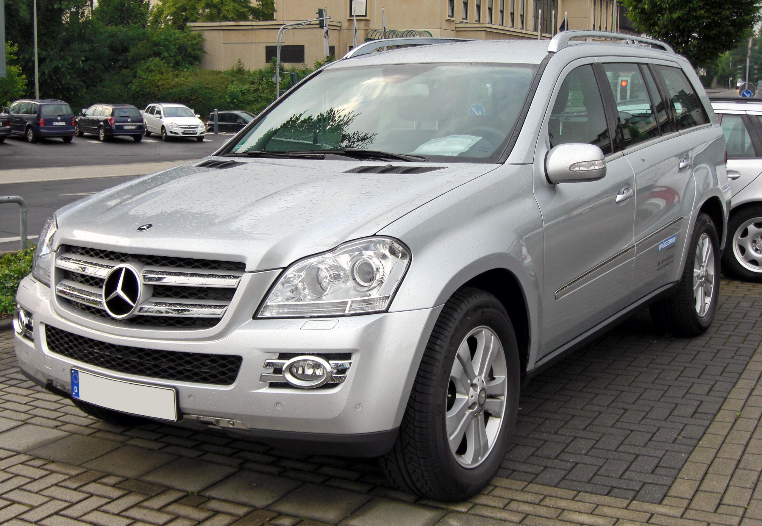 mercedes benz gl 320 cdi technical details history