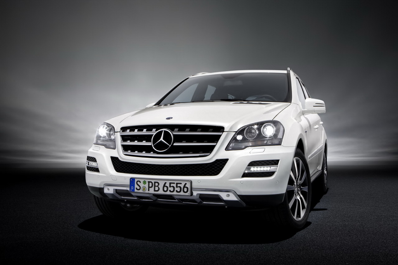 Mercedes benz m klasse history photos on better parts ltd for Mercedes benz ml350 accessories