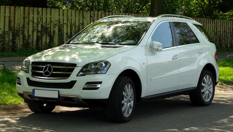 Mercedes benz ml 300 cdi photo 03