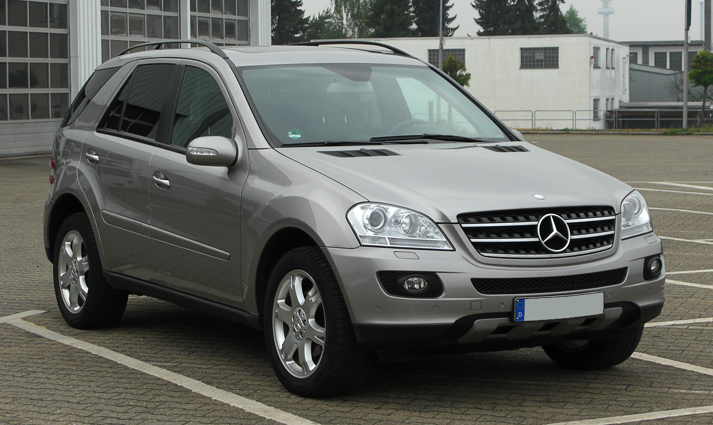 Mercedes benz ml 320 cdi technical details history for Www mercedes benz parts