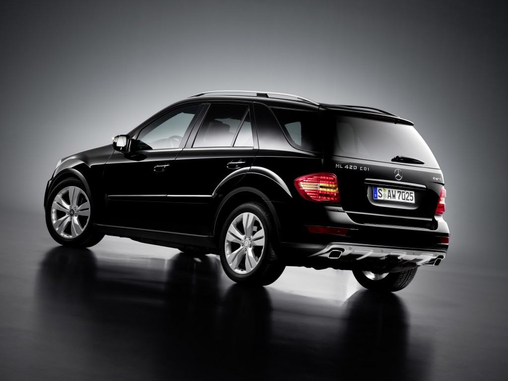 Mercedes benz ml 420 cdi technical details history for Mercedes benz cherry hill parts