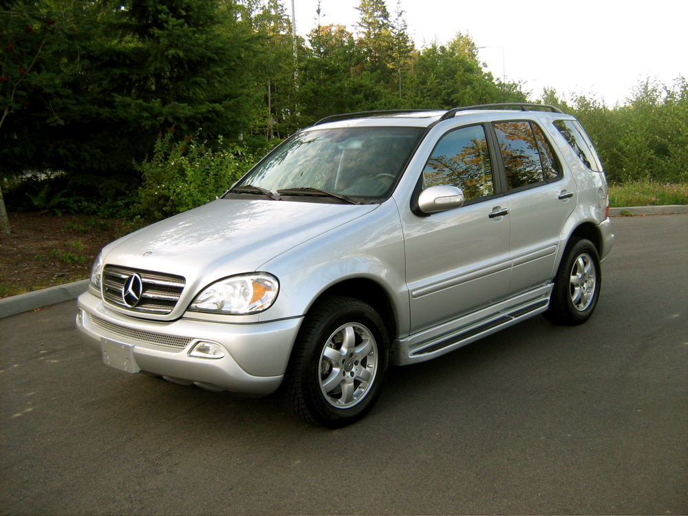 Mercedes Benz Ml 500 Technical Details History Photos On
