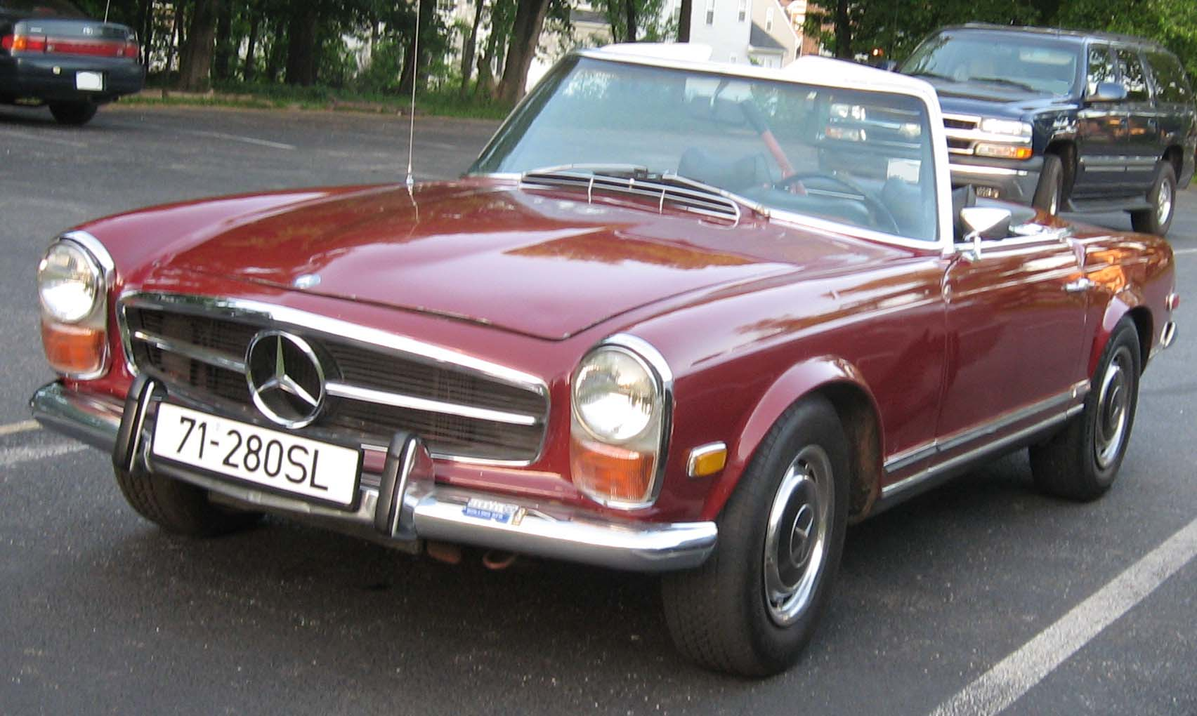 Mercedes benz sl 280 technical details history photos on for Mercedes benz upgrades