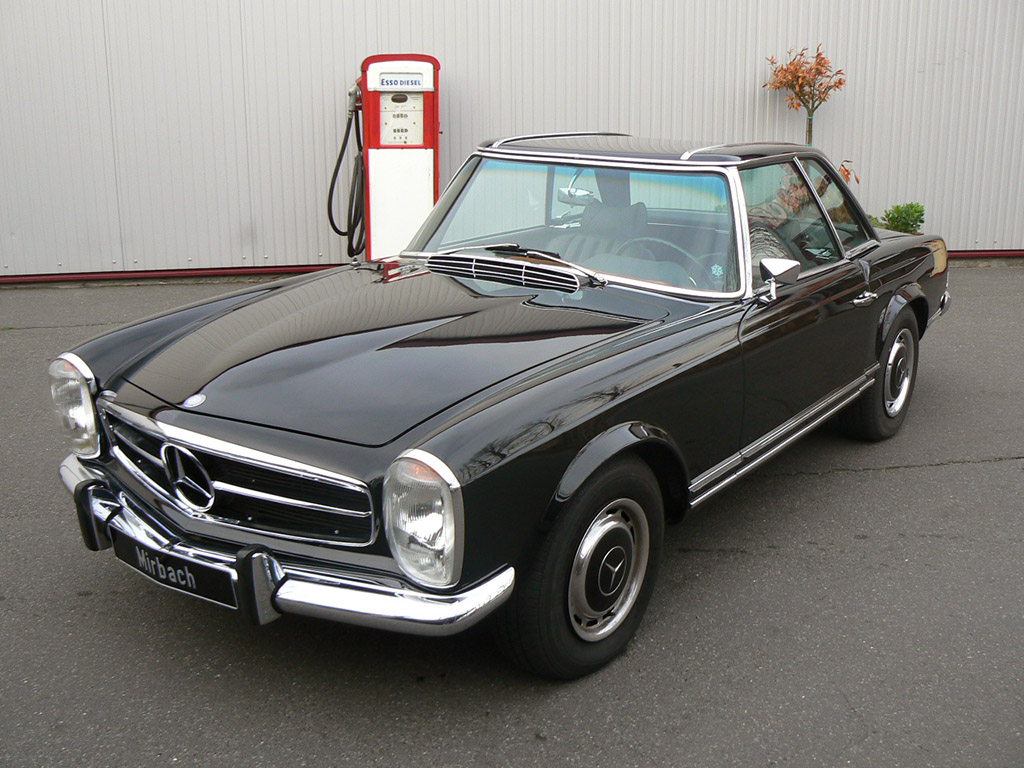 Mercedes benz sl 280 technical details history photos on for Mercedes benz sl500 parts