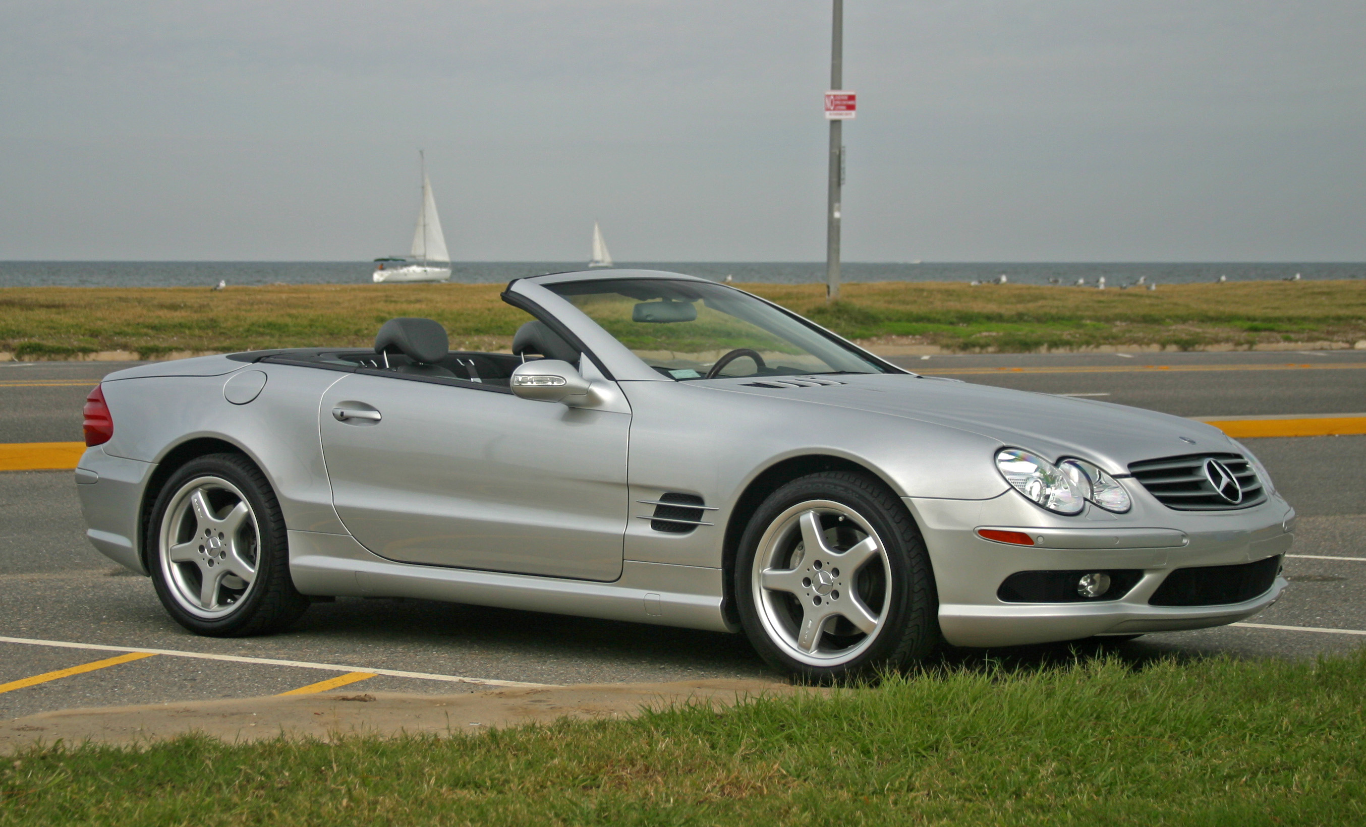 Mercedes benz sl 500 technical details history photos on for Mercedes benz escondido parts