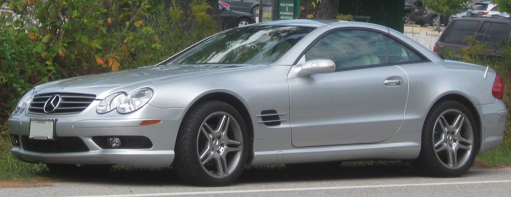 Mercedes-Benz SL 500 photo 02