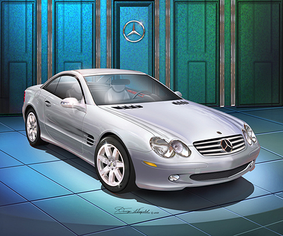 Mercedes-Benz SL 500 photo 04