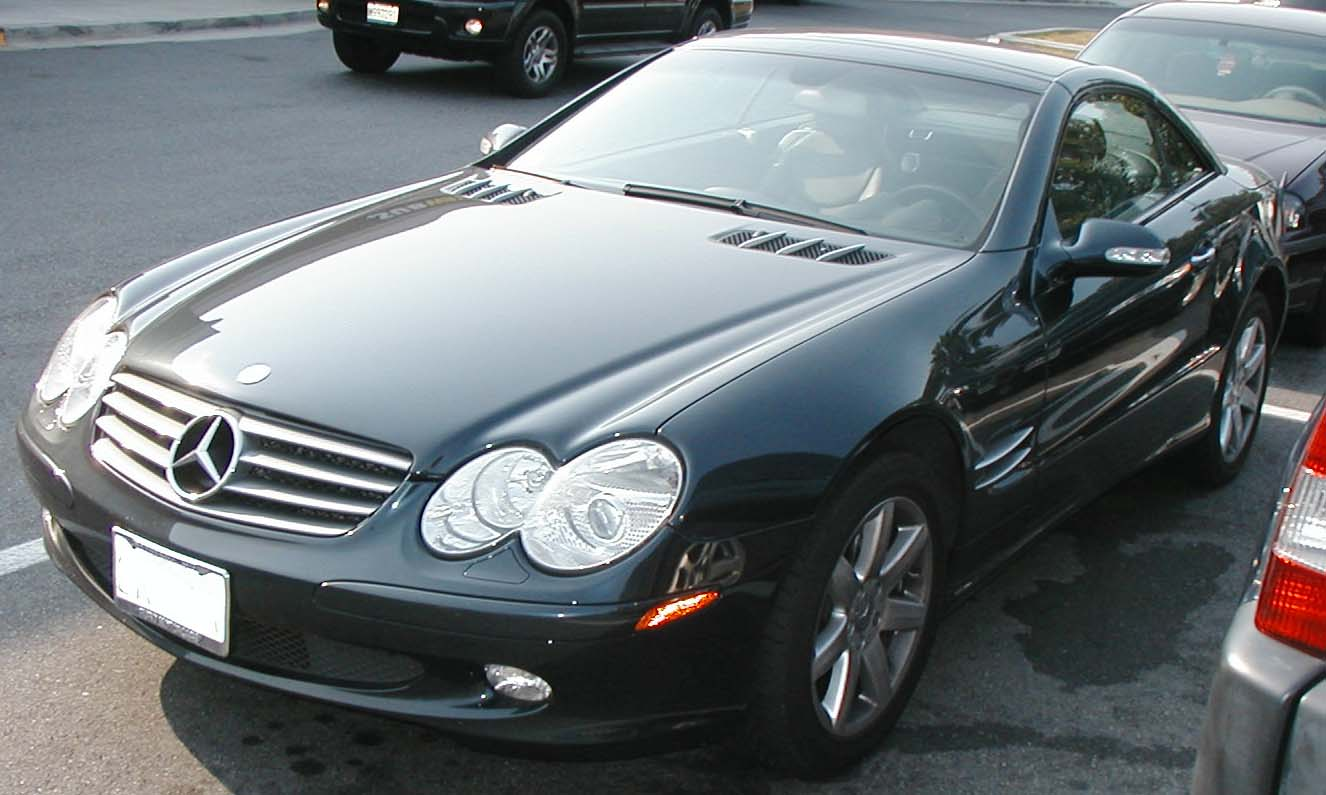 Mercedes benz sl 500 technical details history photos on for Mercedes benz sl500 parts