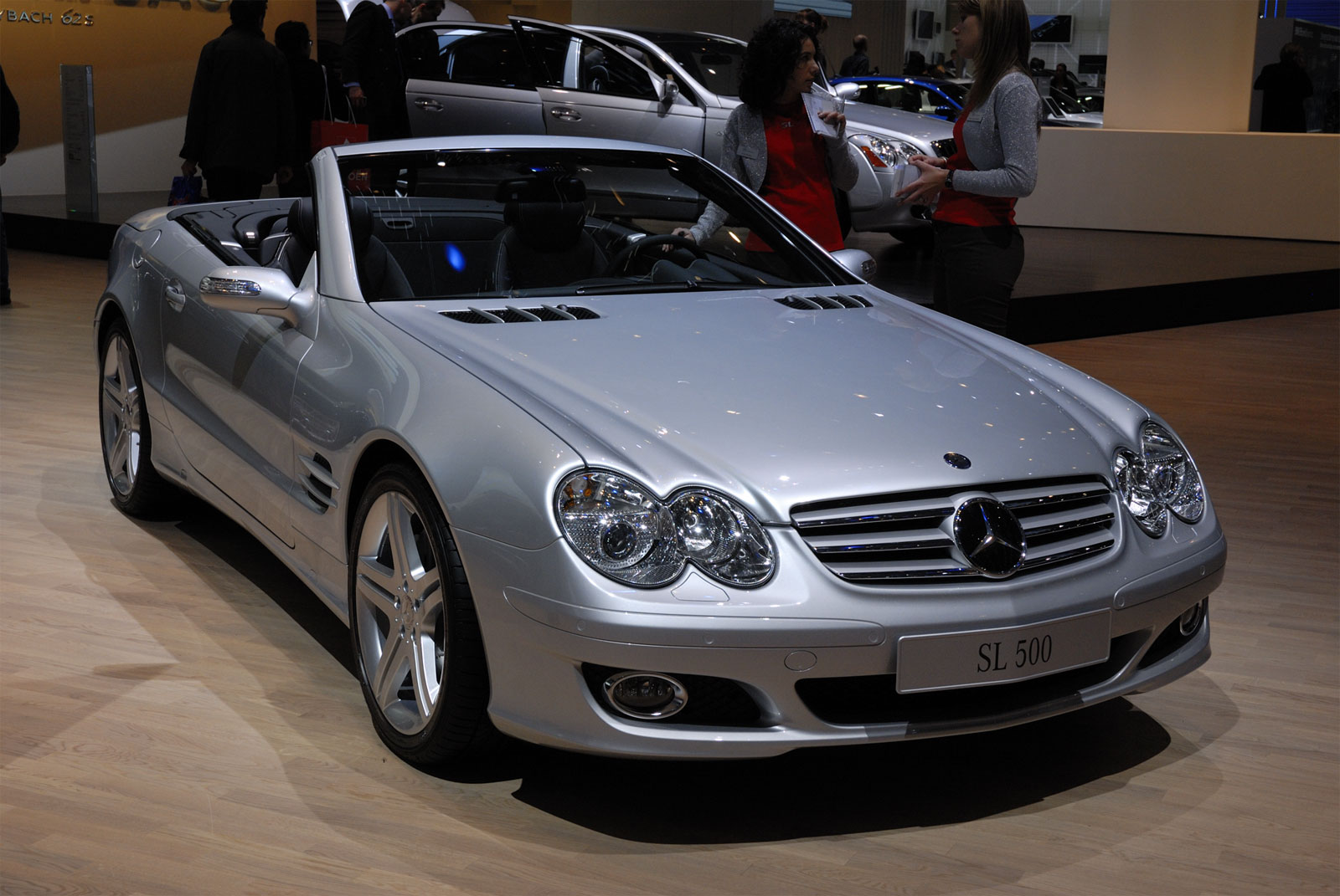 Mercedes benz sl 500 technical details history photos on for Www mercedes benz parts