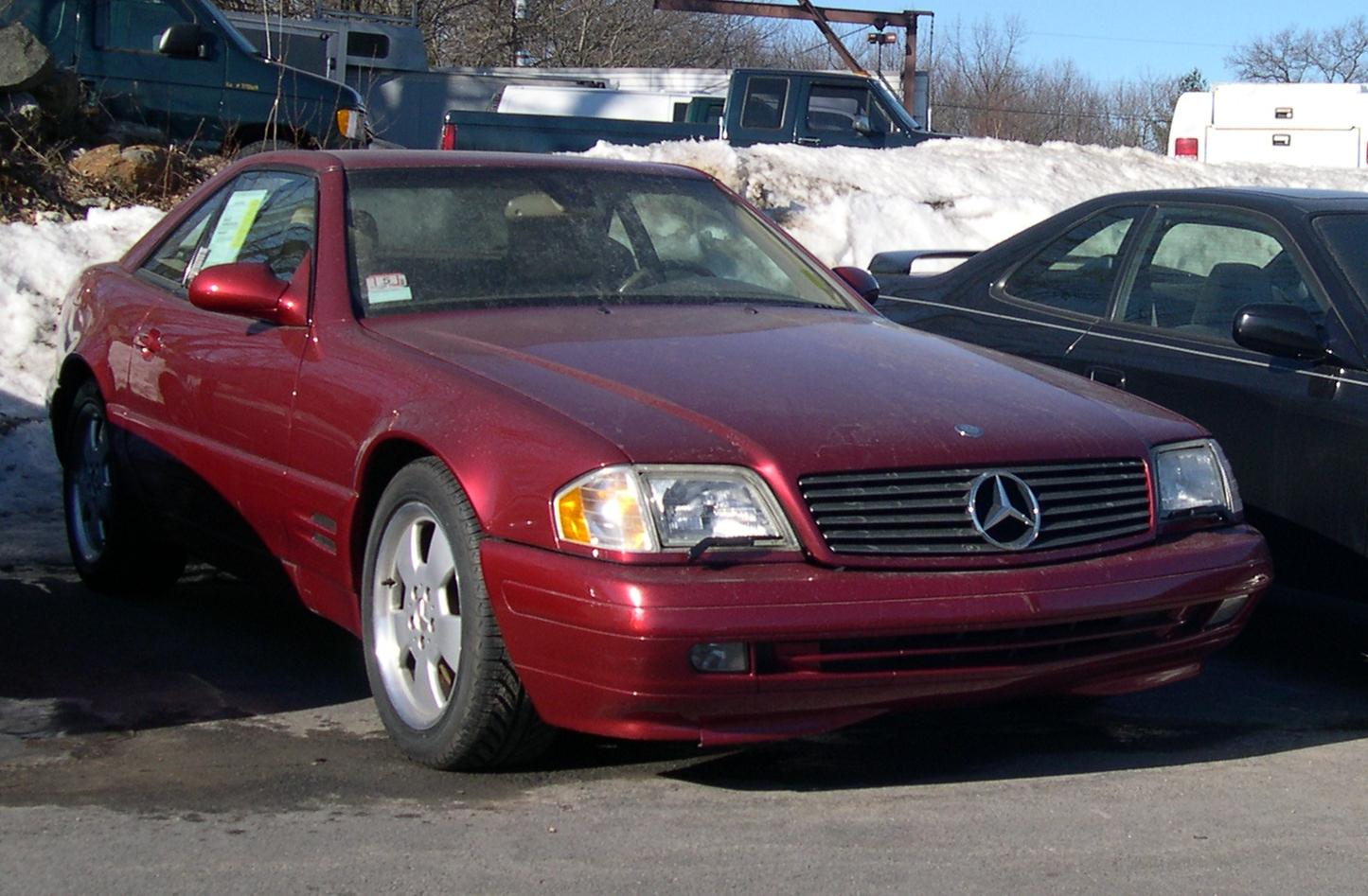 Mercedes-Benz SL 500 photo 12