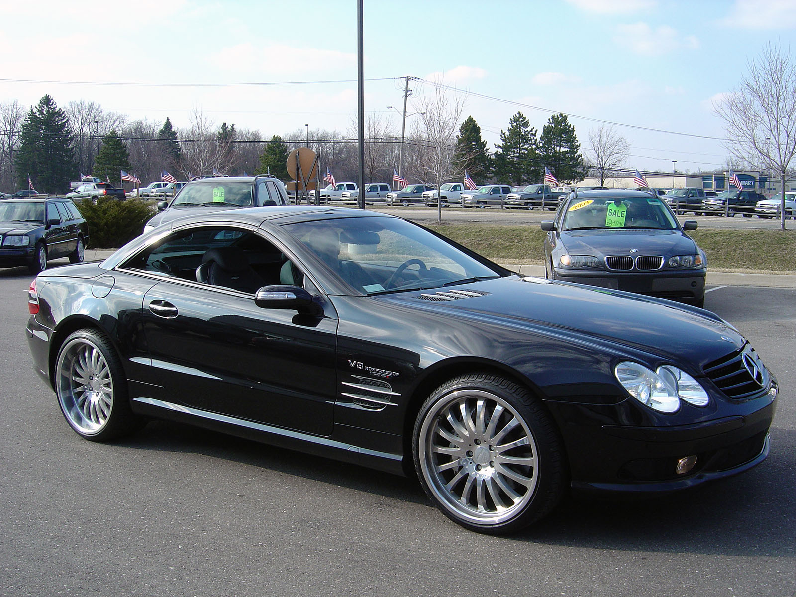 Mercedes Benz Sl 55 Amg Technical Details History Photos