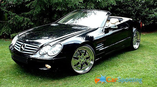 Mercedes-Benz SL 55 AMG photo 03