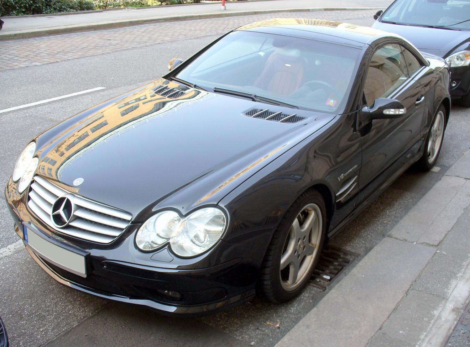 Mercedes-Benz SL 55 AMG photo 05