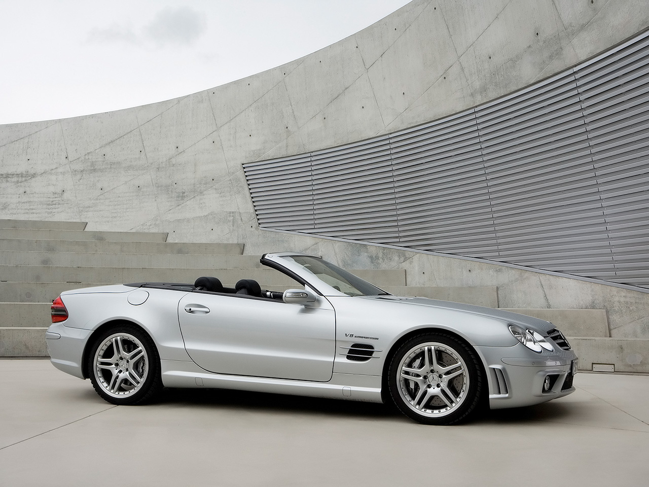 Mercedes-Benz SL 55 AMG photo 08