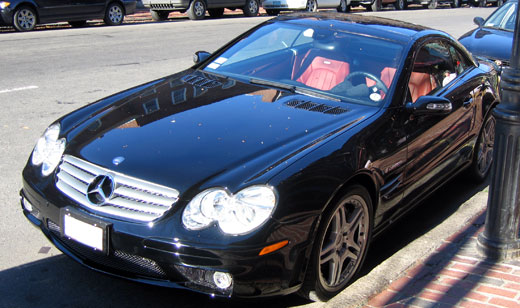 Mercedes-Benz SL 55 AMG photo 12