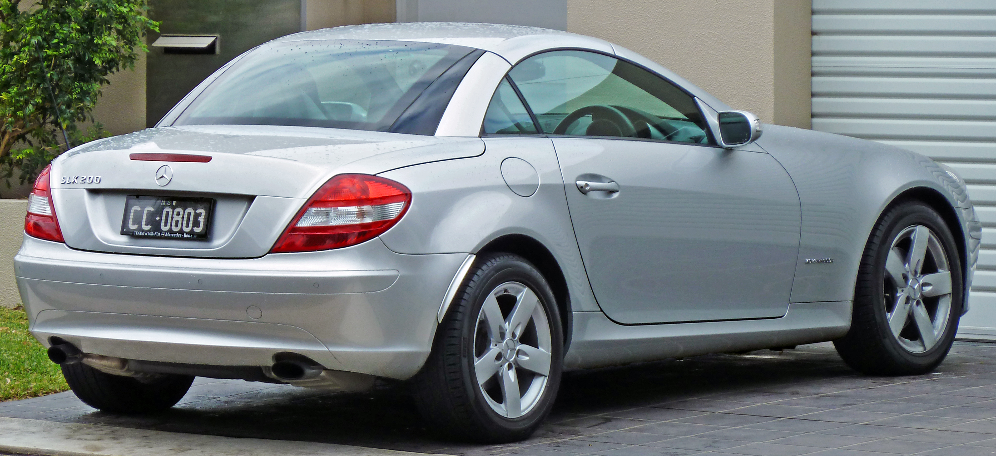 Mercedes-Benz SLK 200 Kompressor photo 01