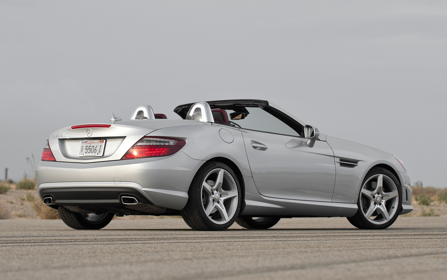 Mercedes benz slk 350 technical details history photos for Mercedes benz escondido parts