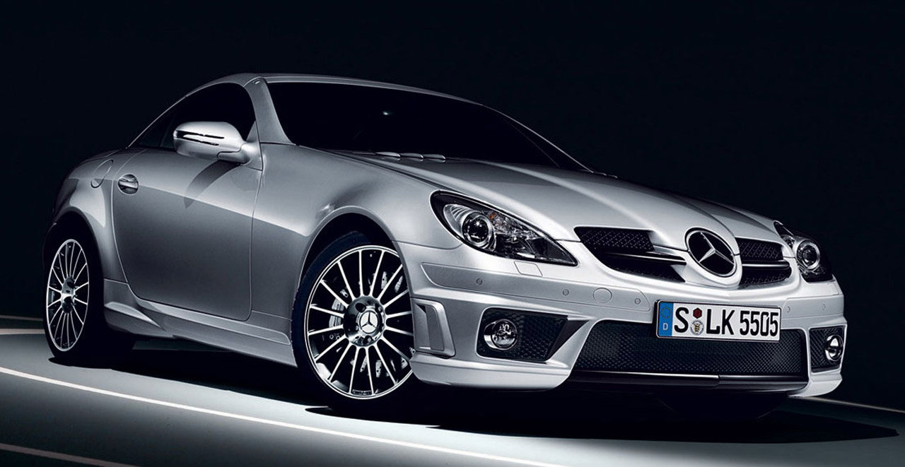 Mercedes benz slk 55 amg photo 02