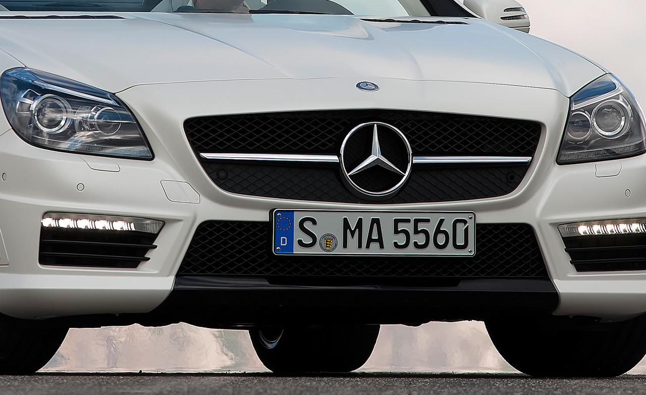 Mercedes-Benz SLK 55 AMG photo 11