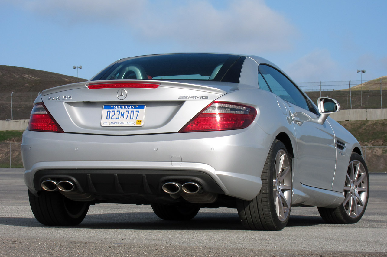 Mercedes-Benz SLK 55 AMG photo 17