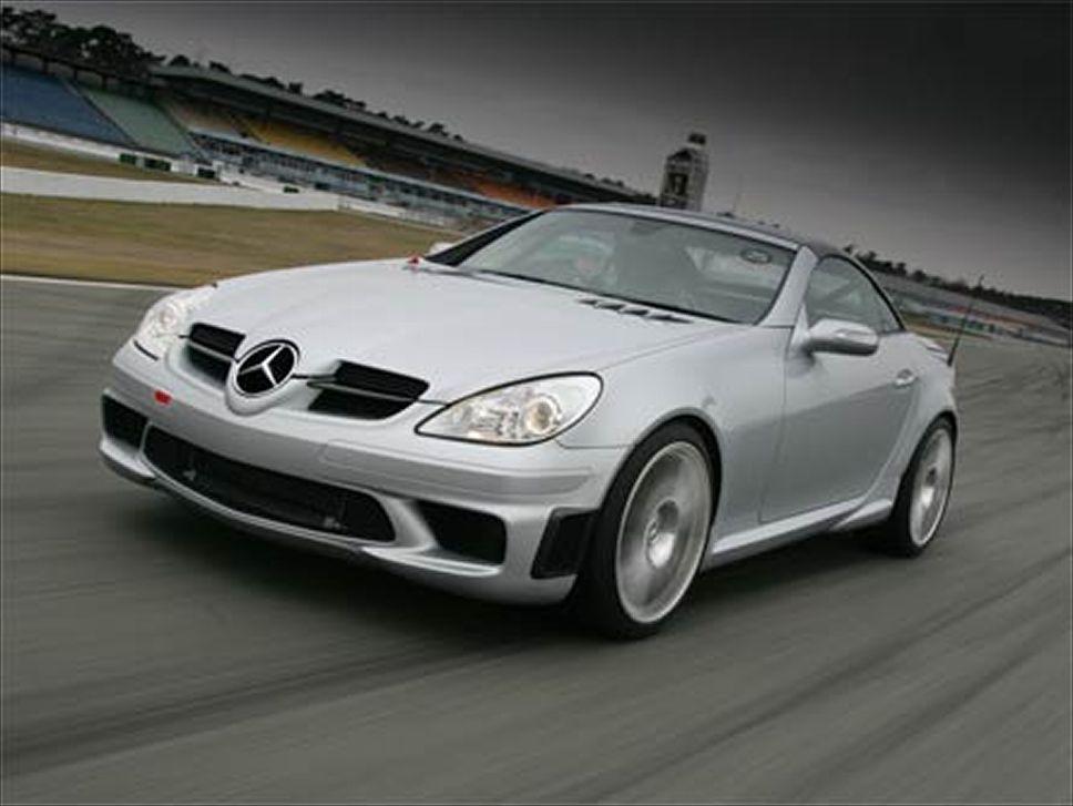 Mercedes benz slk 55 tracksport technical details history for Mercedes benz slk 55 amg special edition