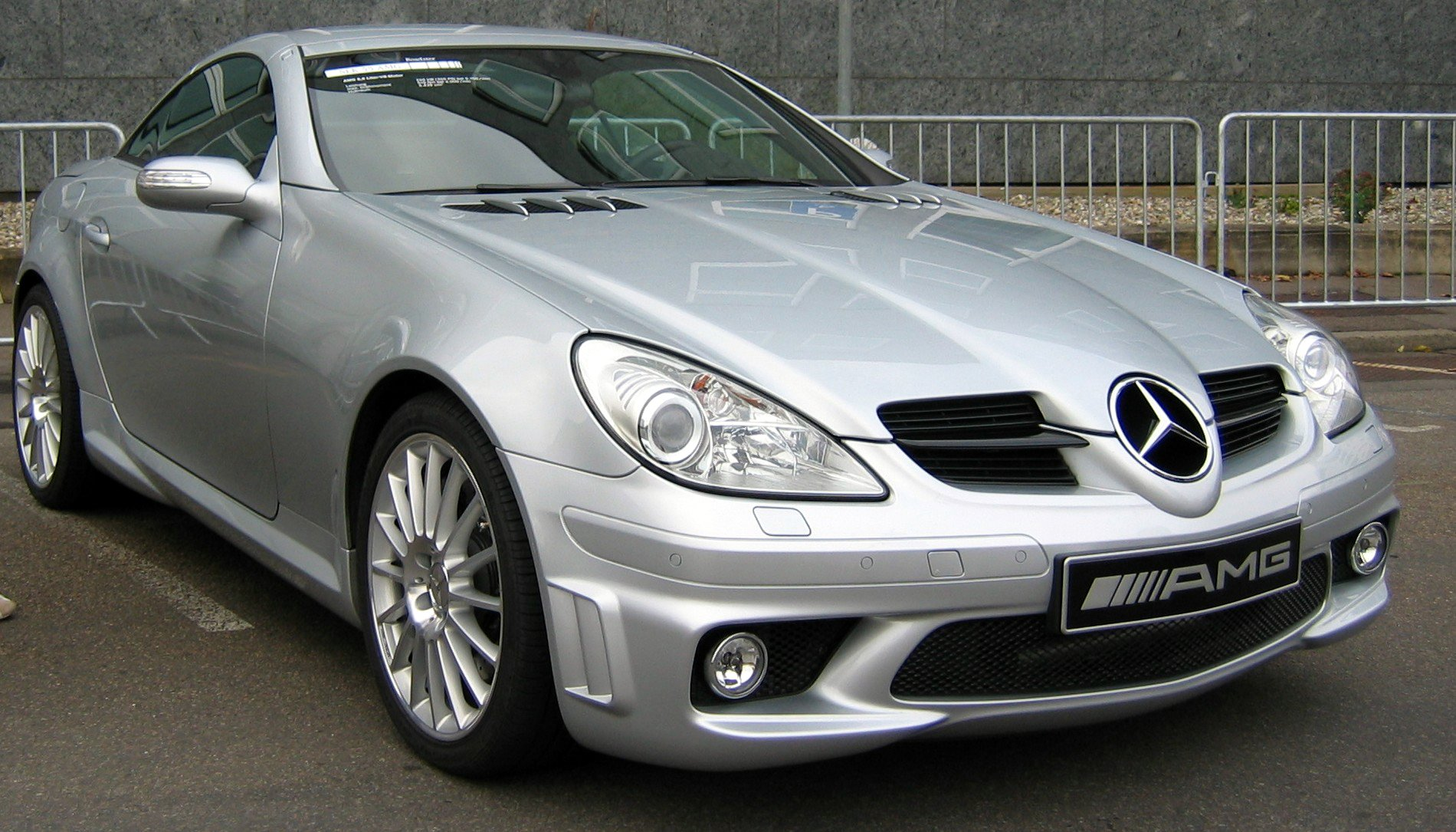 Mercedes-Benz SLK 55 Tracksport photo 04