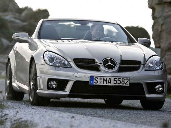 Mercedes-Benz SLK 55 Tracksport photo 05