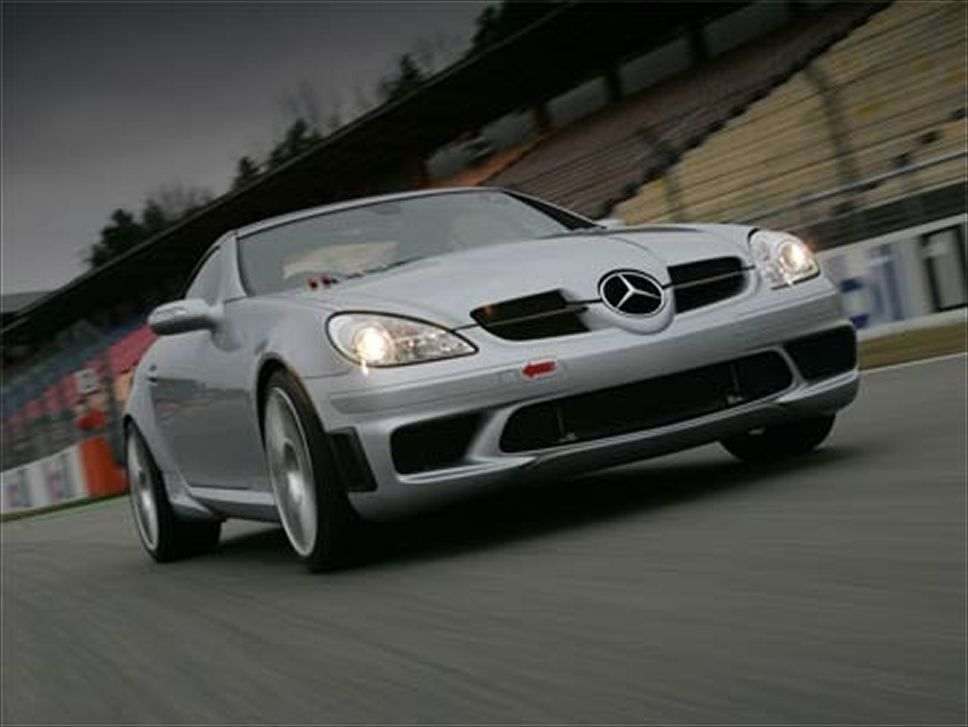 Mercedes-Benz SLK 55 Tracksport photo 06