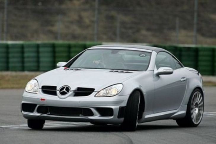 Mercedes-Benz SLK 55 Tracksport photo 09