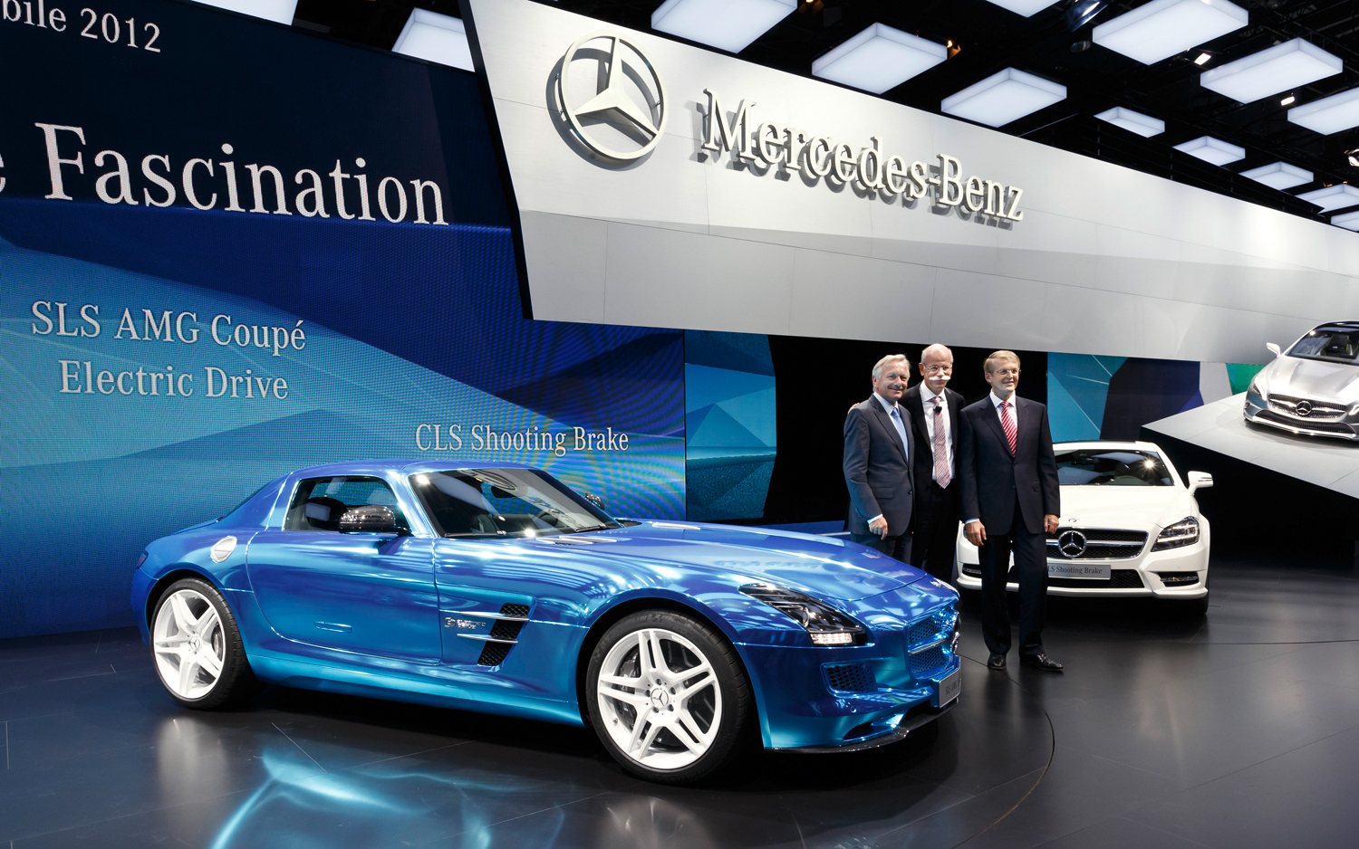 Mercedes-Benz SLS AMG Electric Drive image #8